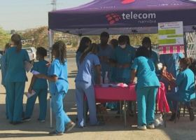 UNAM radiology department hosts breast cancer awareness drive
