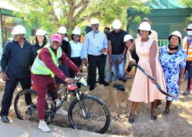 City of Windhoek launches cycle lanes and electronic bikes initiative