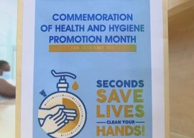City of Windhoek observes October as 'Health and Hygiene Promotion' month