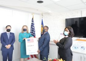 USA and Germany donate vaccines to Namibia