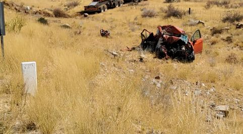 Truck driver involved in a head-on collision in //Kharas charged with culpable homicide