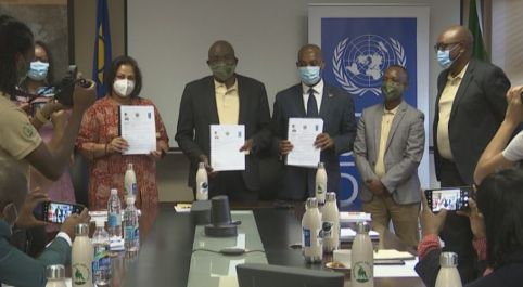 Environment Ministry, UNDP, NPC sign project documents to proactively manage human-wildlife conflict