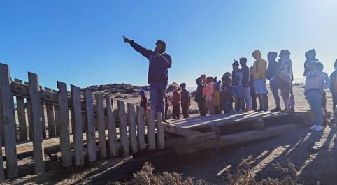 Hardap Education Ministry offers educational tours for less privileged learners